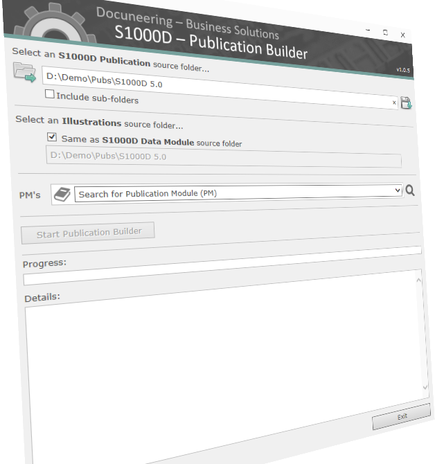 Docuneering - S1000D - Publication Builder